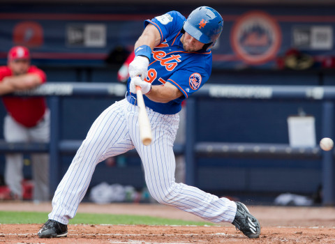 Mets Tebow Debut Baseball