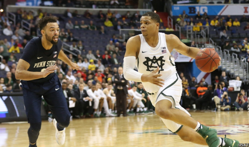 NCAA Basketball: Big Ten Conference Tournament-Michigan State vs Penn State