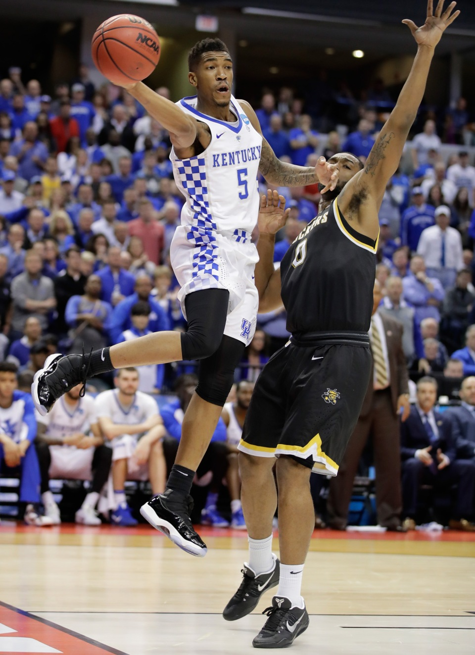 NCAA Basketball Tournament - Second Round - Wichita State v Kentucky